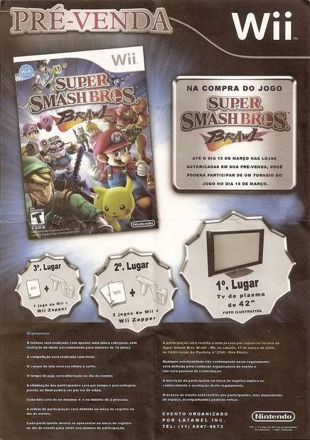 [Wii] Campeonatos de Super Smash Bros. Brawl no Brasil Digitalizar00024