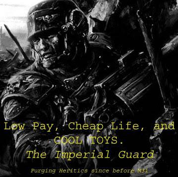 Funny 40K Guard