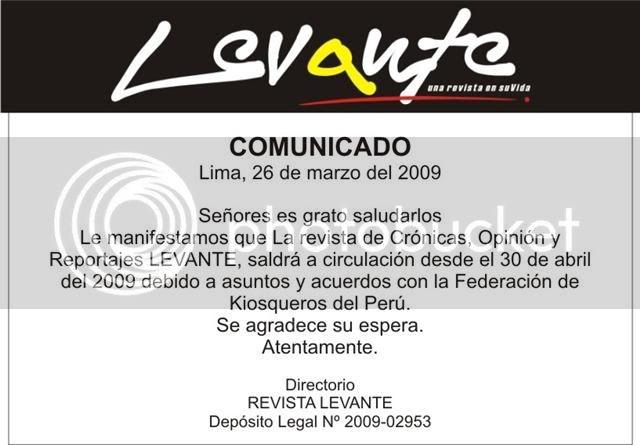 """Fecha De Salida Revista """"Levante"""" Comunicadorevistalevante"""