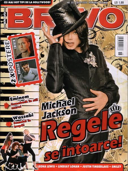 """MJ sulla copertina di """"Bravo"""" (Romania) Bravo1-a"""
