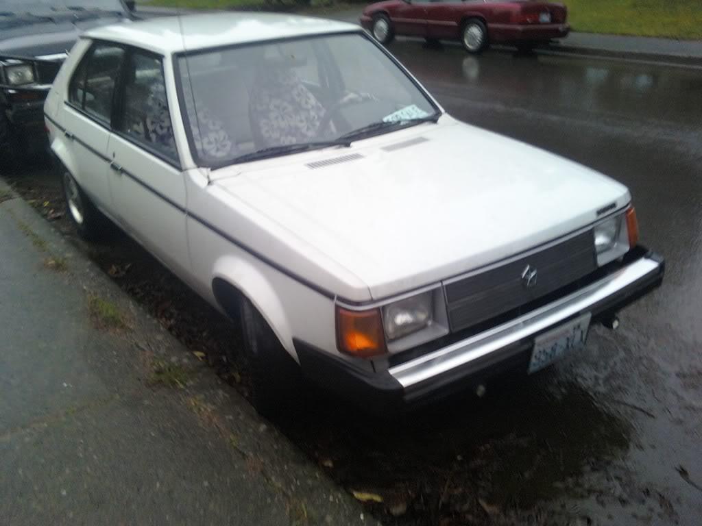 Buy this shit.  Dodge Omni & Mazda B2200 Omni
