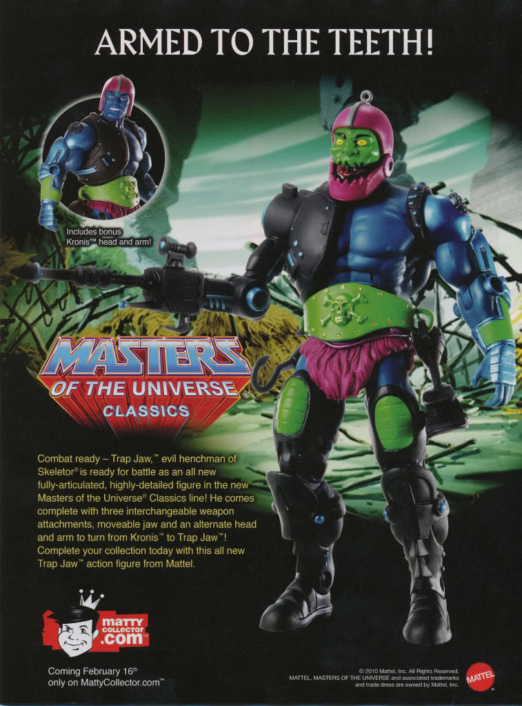 Masters of the Universe Classics Trap-Jaw-Ad