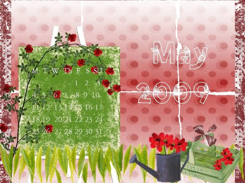 MAY Calendar Challenge Maycalander