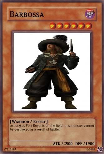 Personajes Libres Barbossa