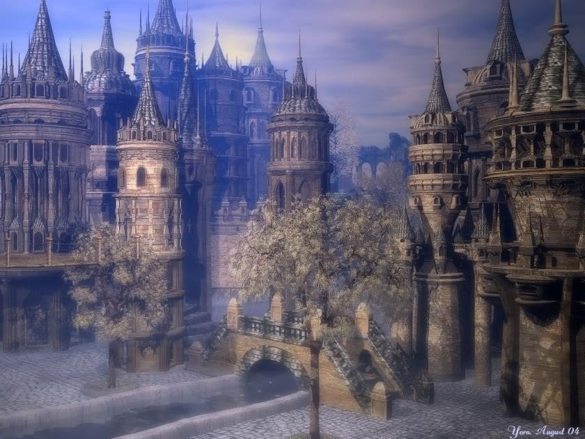 Площадът City_of_blue_Dreams_by_Yoro40