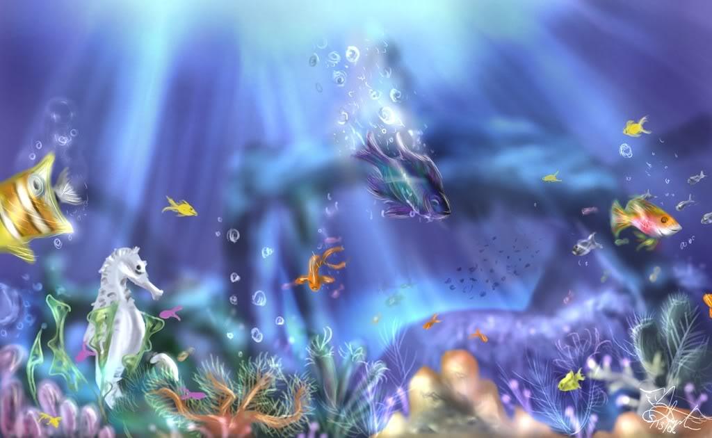 Рифът __Underwater___by_bishoujosteph