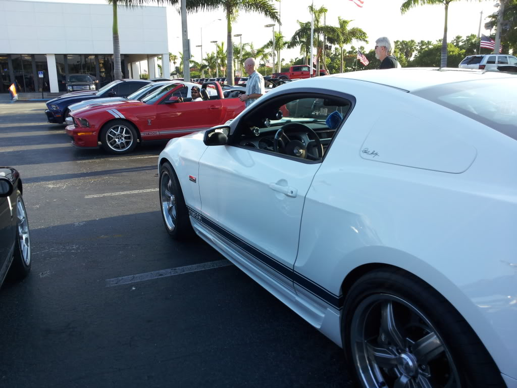 Tribute to Carroll Shelby event @ Gus Machado Ford of Kendall 5-30-2012 20120530_185608