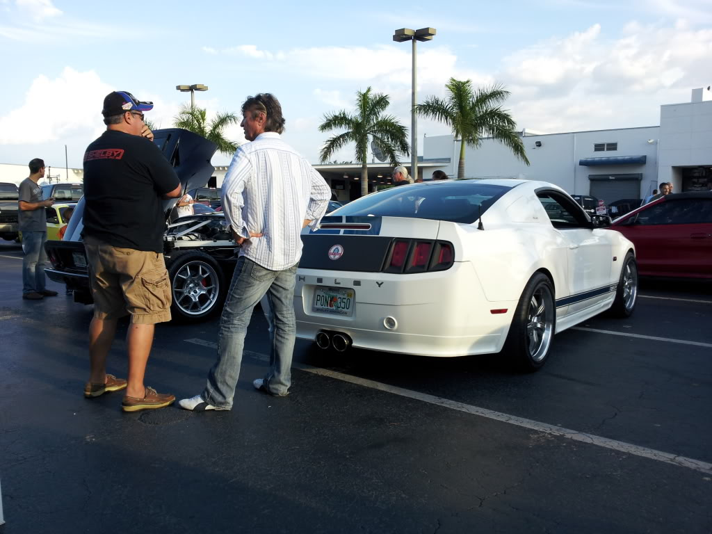 Tribute to Carroll Shelby event @ Gus Machado Ford of Kendall 5-30-2012 20120530_190123