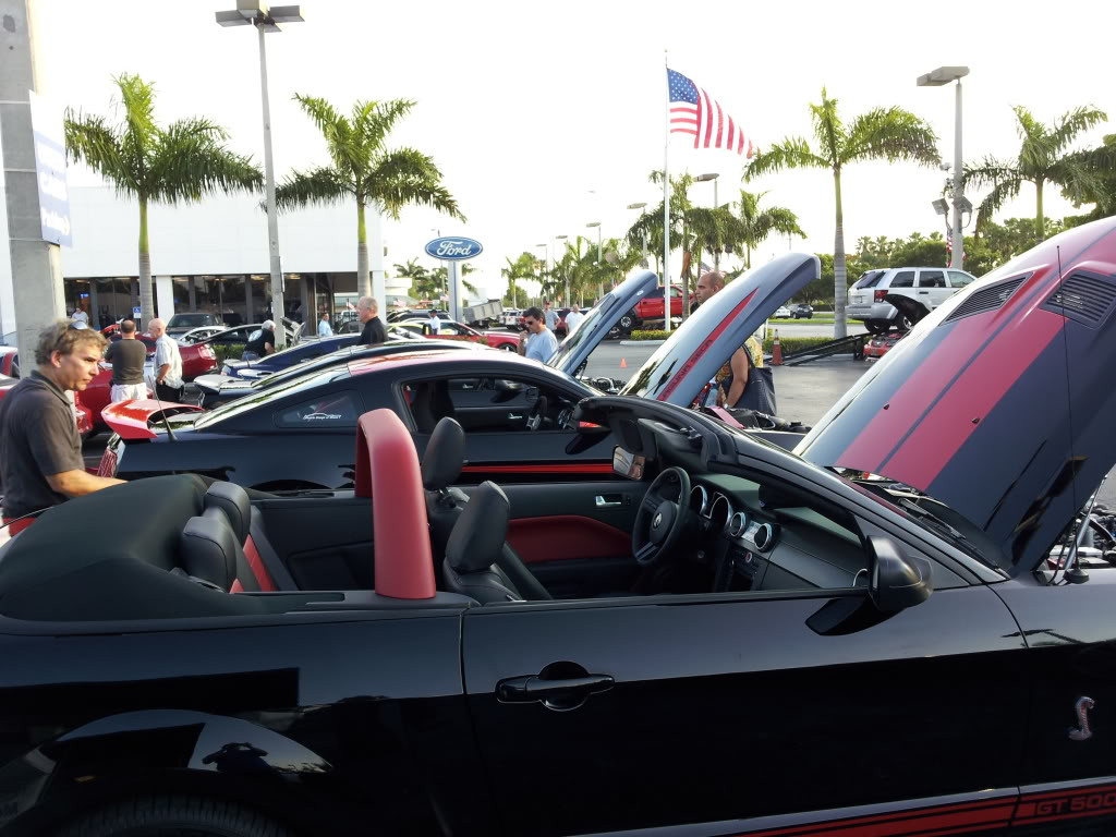 Tribute to Carroll Shelby event @ Gus Machado Ford of Kendall 5-30-2012 20120530_190154