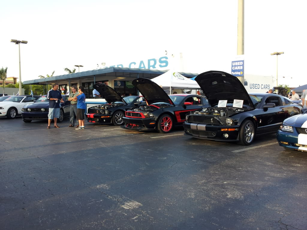 Tribute to Carroll Shelby event @ Gus Machado Ford of Kendall 5-30-2012 20120530_190242