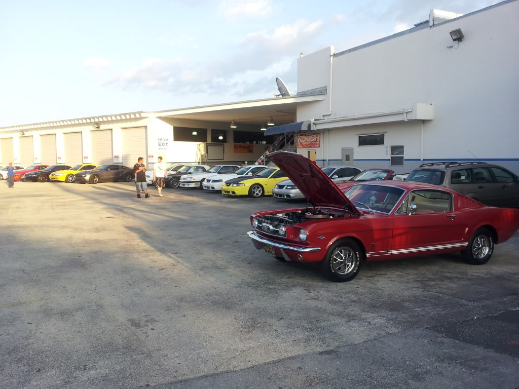 Tribute to Carroll Shelby event @ Gus Machado Ford of Kendall 5-30-2012 20120530_192425