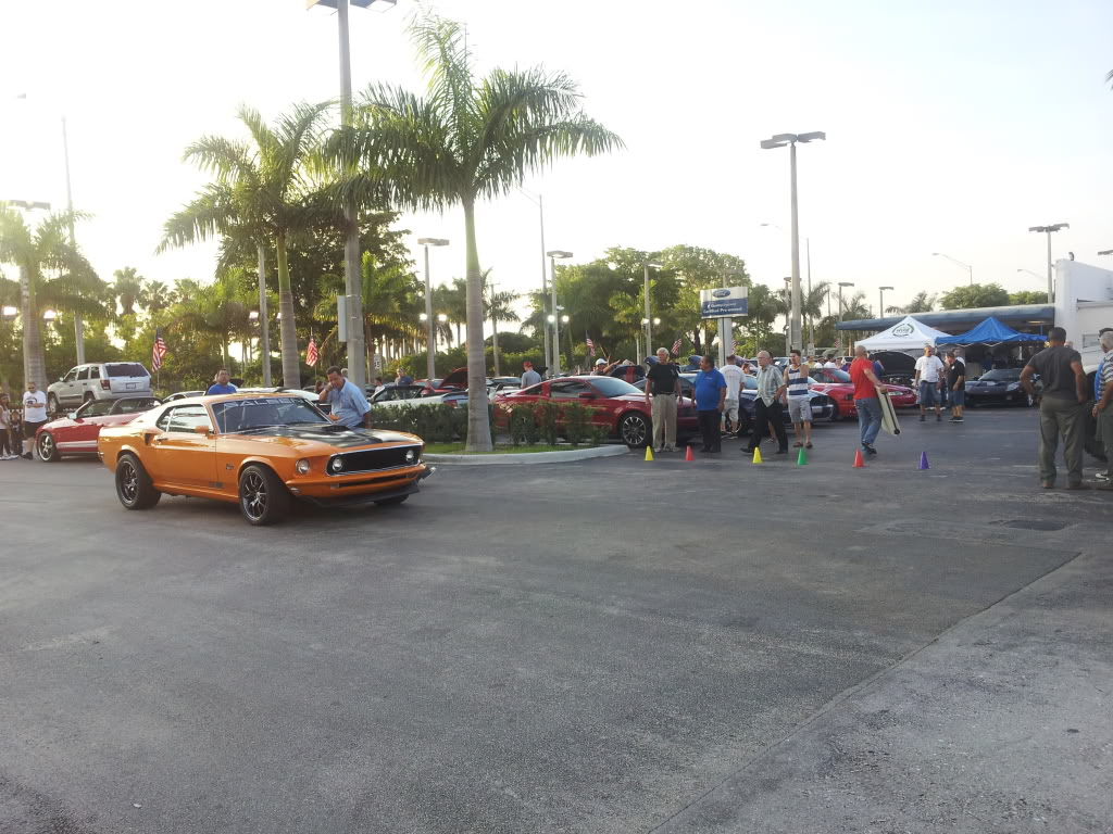 Tribute to Carroll Shelby event @ Gus Machado Ford of Kendall 5-30-2012 20120530_192440