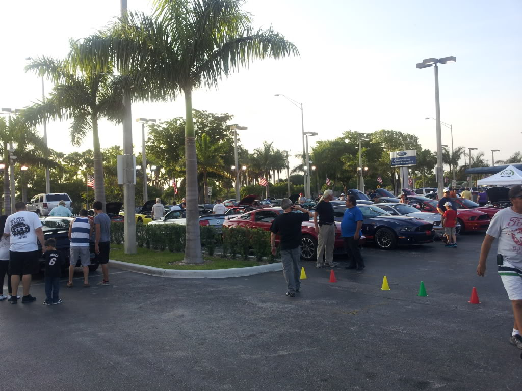Tribute to Carroll Shelby event @ Gus Machado Ford of Kendall 5-30-2012 20120530_192459