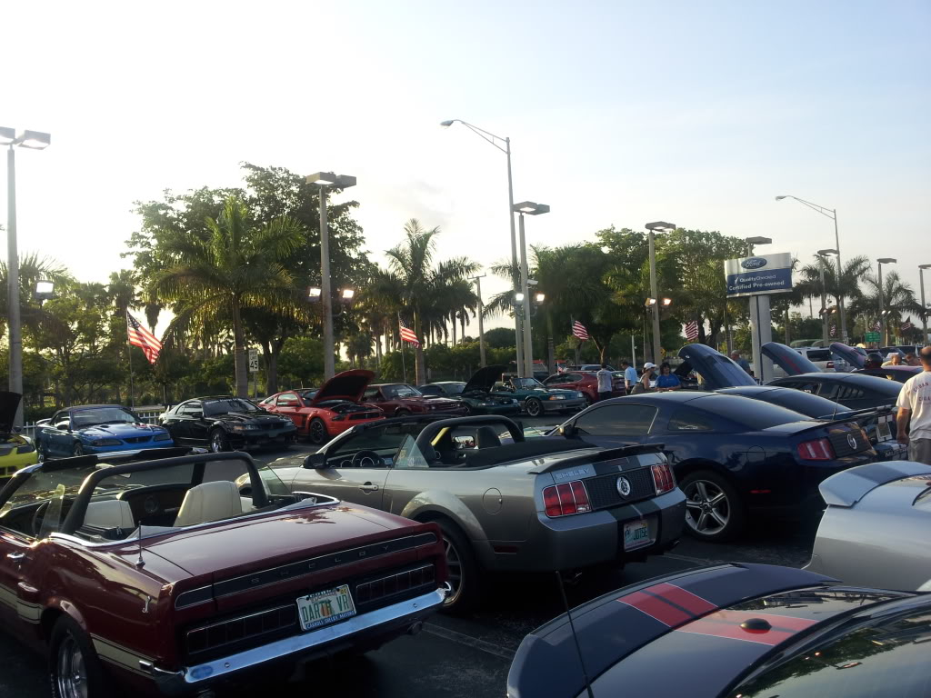 Tribute to Carroll Shelby event @ Gus Machado Ford of Kendall 5-30-2012 20120530_192523