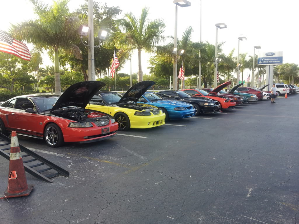 Tribute to Carroll Shelby event @ Gus Machado Ford of Kendall 5-30-2012 20120530_192548