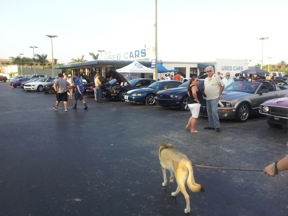 Tribute to Carroll Shelby event @ Gus Machado Ford of Kendall 5-30-2012 20120530_192601