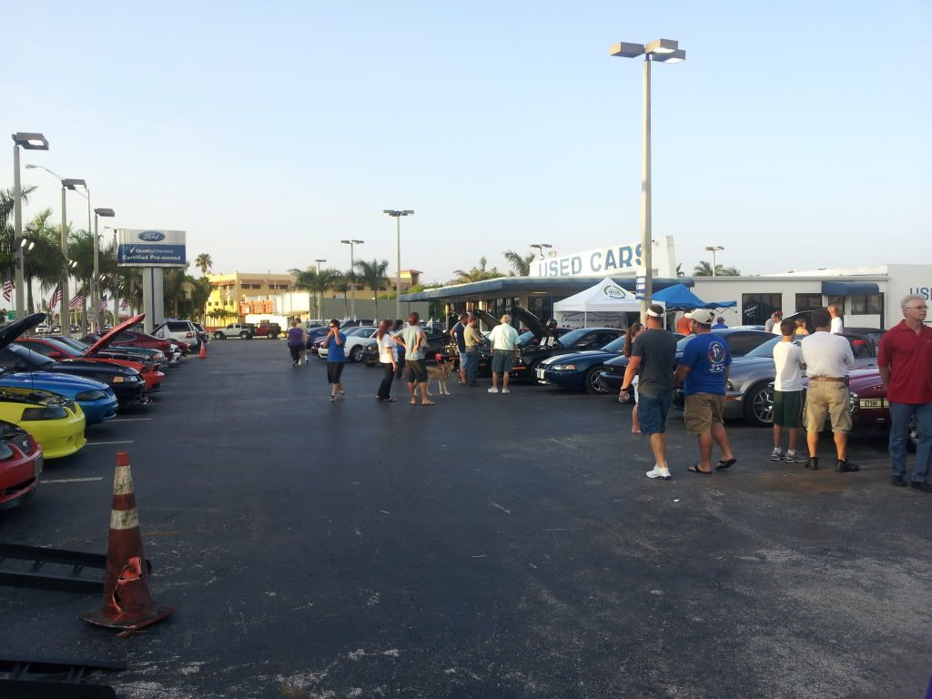 Tribute to Carroll Shelby event @ Gus Machado Ford of Kendall 5-30-2012 20120530_192626