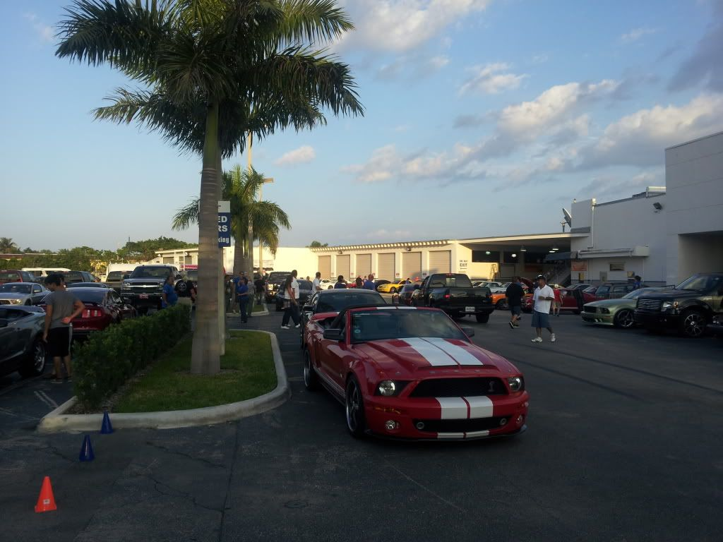 Tribute to Carroll Shelby event @ Gus Machado Ford of Kendall 5-30-2012 20120530_192639