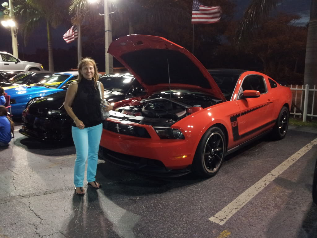 Tribute to Carroll Shelby event @ Gus Machado Ford of Kendall 5-30-2012 20120530_203554