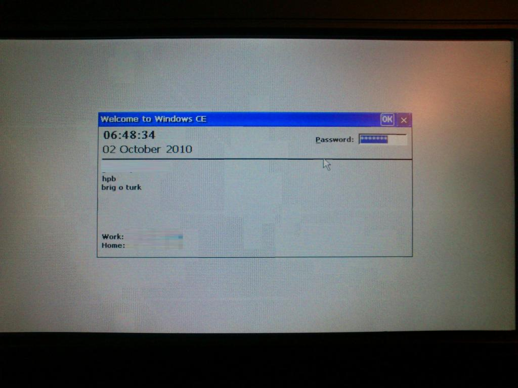 Reflashing a Win ce 6.0 netbook, how do i do it Pullar