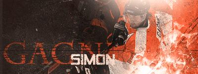 Philadelphia Flyers.  SimonGagnev3