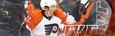Philadelphia Flyers.  Jvr