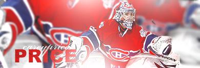 Montréal Canadiens. Price