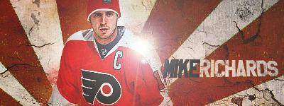Philadelphia Flyers.  Richards-5