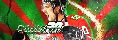 Chicago Blackhawks. Sharp