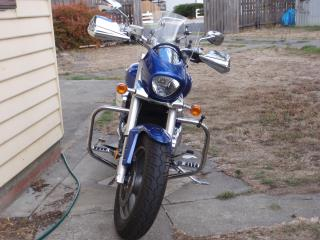 Mods done so far ....... 2012 Suzuki M50 P3140010