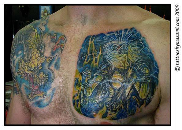 Métal et Tatouage... - Page 5 Iron-maiden-eddie-tattoo-2