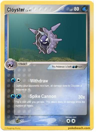 The Dual Sweeping Combo Cloyster