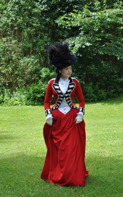 [Histo] Riding Habit, ou comment se vêtir pour les journées de chasse à cour de Louis XV Worsley17