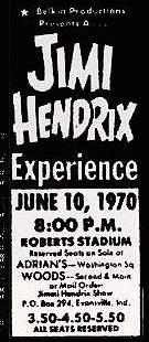 Evansville (Roberts Municipal Stadium) : 10 juin 1970 6882b14ebbd2ff87df67b1c9ddb36c95