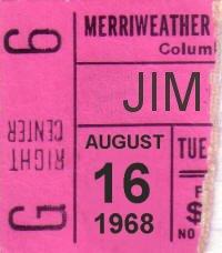 Columbia - Maryland  (Merryweather Post Pavilion)   16 août 1968 Abdb63635c0d828e590aa9a5b7a54c5d