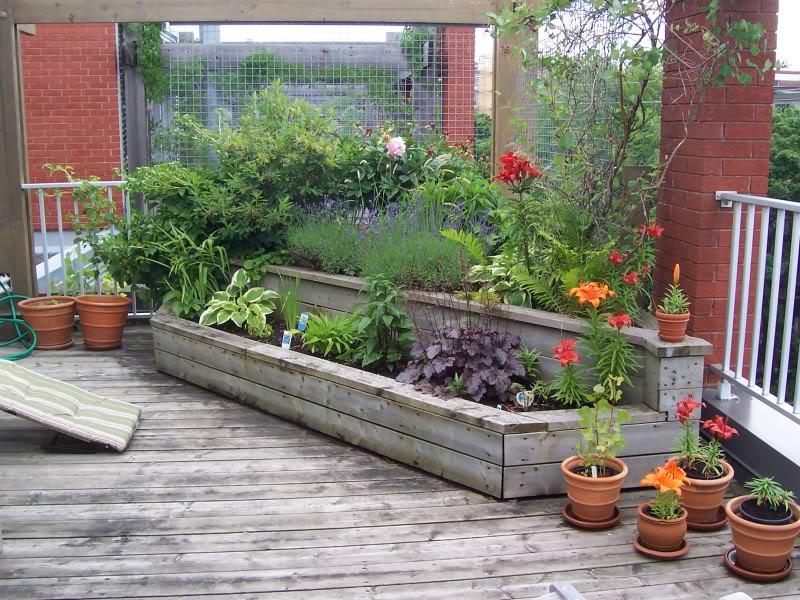 Terrasse Fleurie Chez Ma Soeur à Montréal