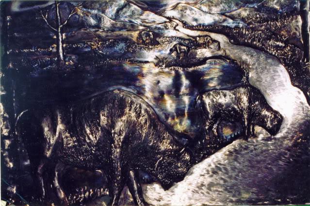 You Are Always Near - Sand artist Kseniya Simonova Buffalo