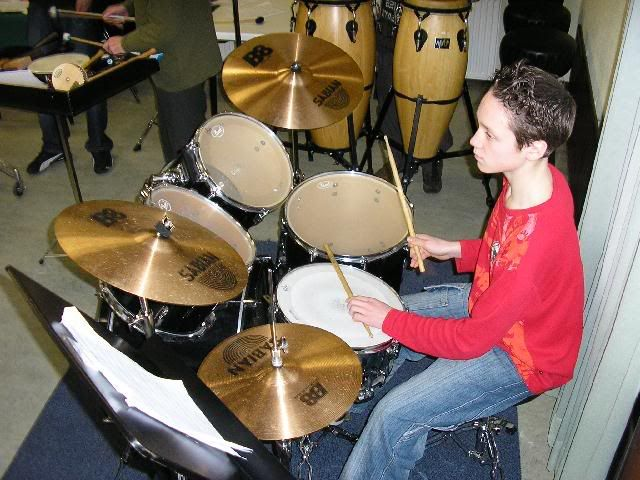 Pic of Yourselve Drummerboy