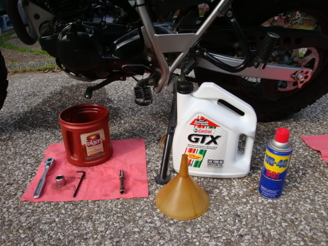 Changing your own Oil TWOilChange001