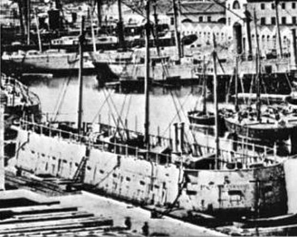 Encorazados, monitores y primeros barcos blindados FNLave1854