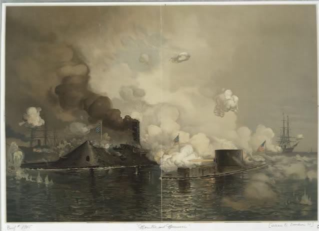 Encorazados, monitores y primeros barcos blindados Monitorvirginia