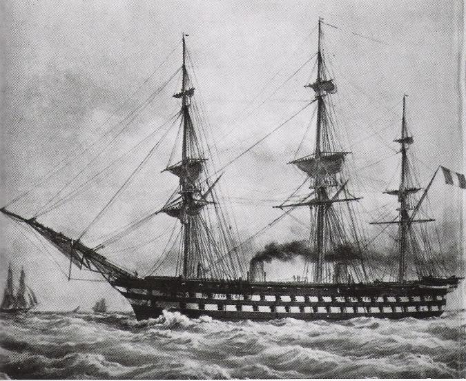 Encorazados, monitores y primeros barcos blindados Napoleon28185029