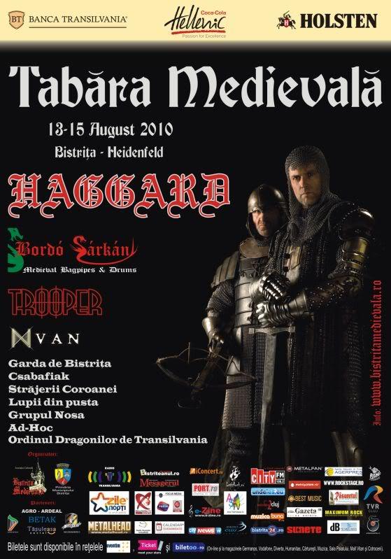 Bistrita Medievala AfisTabaraCavalerilor