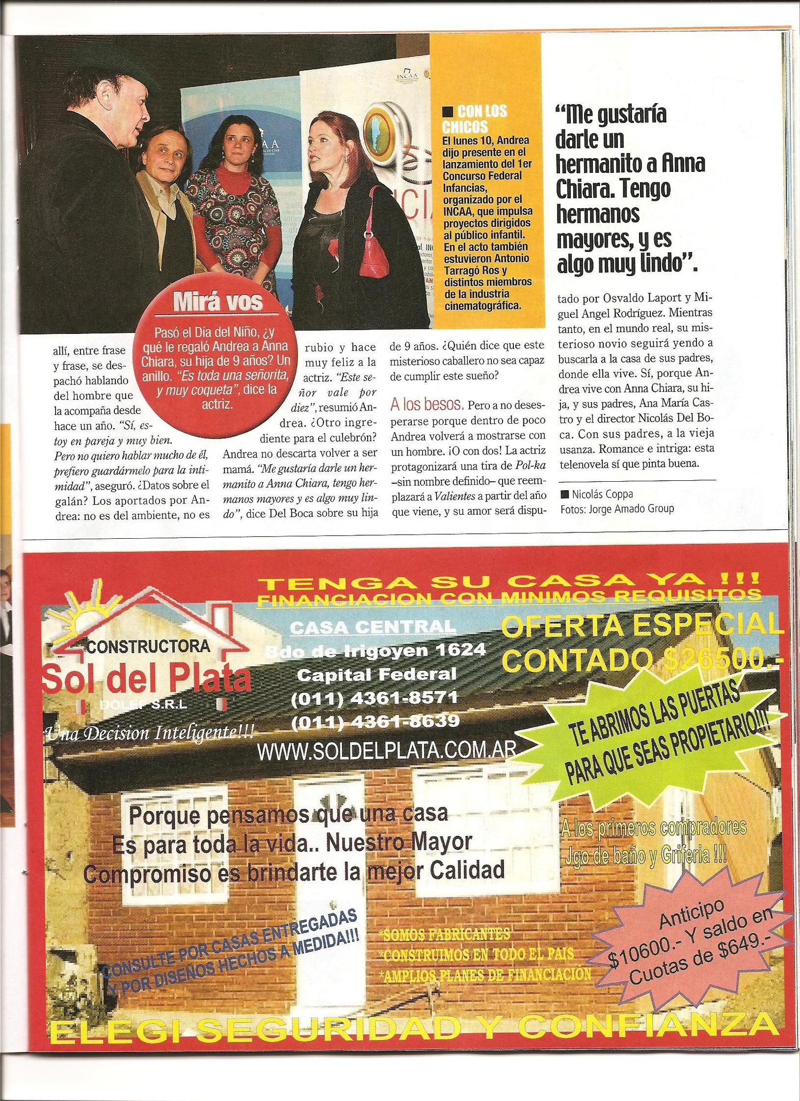Andrea en revistas (agosto 2009) Imagen007
