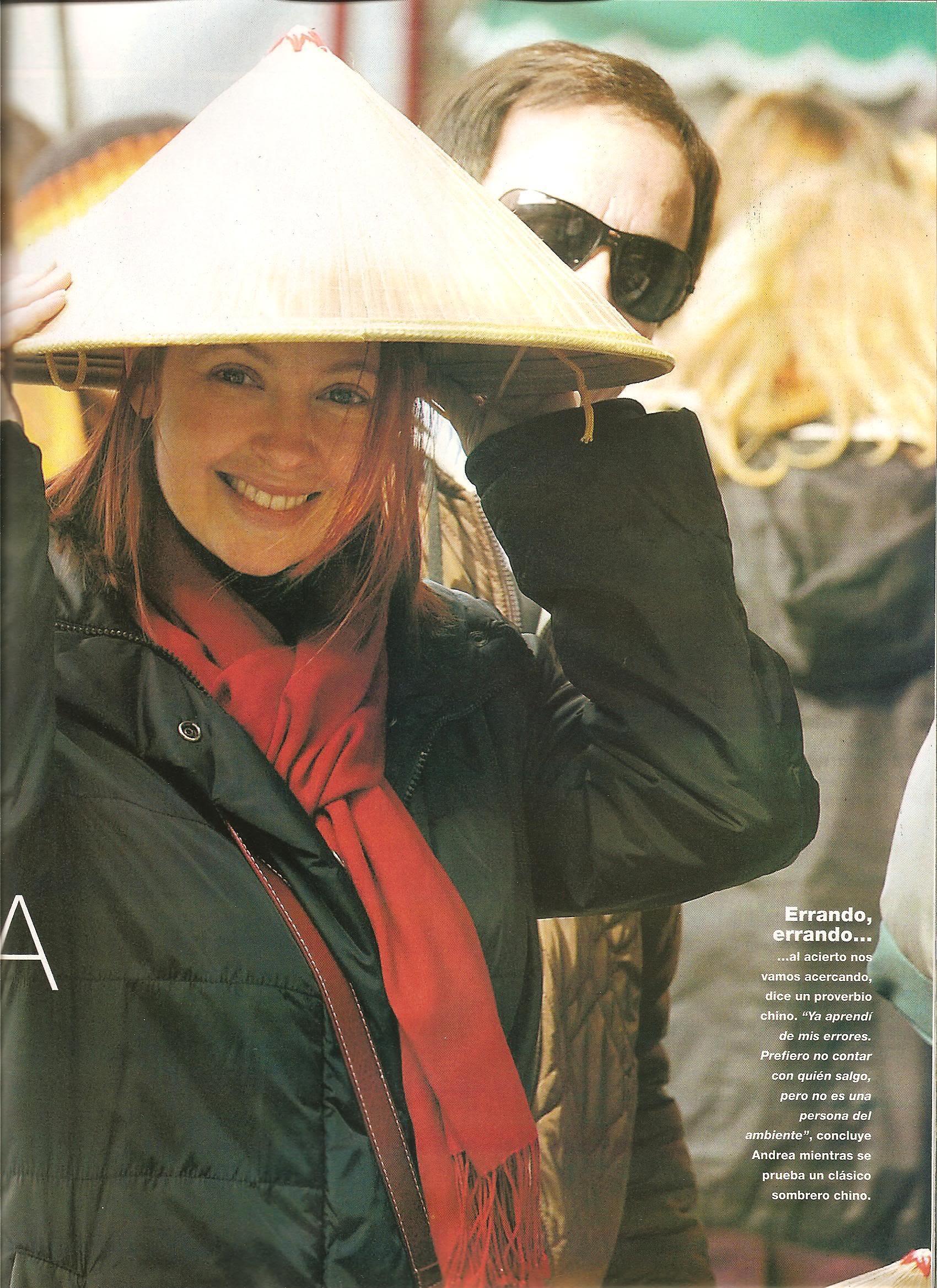 Andrea en revistas (agosto 2009) Imagen009