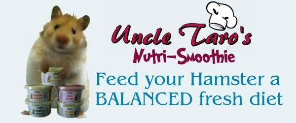 Uncle Taro's Nutri-Smoothie for your HAMSTER & GERBIL LYNTitle