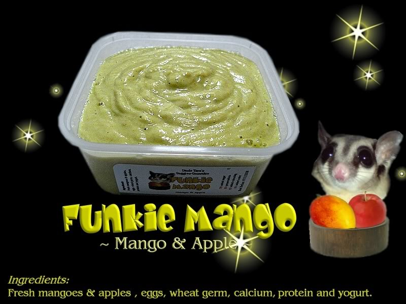 Uncle Taro's Suggie-Smoothie for Sugar Glider Funkiemangoblack