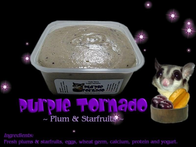 Uncle Taro's Suggie-Smoothie for Sugar Glider Purpletornadoblack