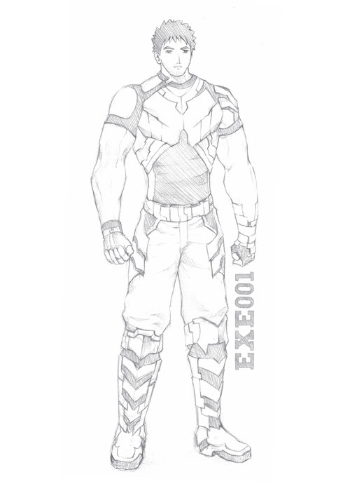 [Character] EXE001 (เพิ่ม Intro) EXE001CFProfile01