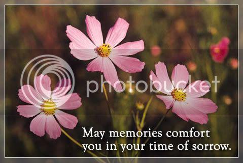 Sad sad sad news Sympathy_MayMemoriesComfort